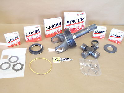 F350 F250 SUPER DUTY DANA 50 OR 60 OUTER AXLE STUB SHAFT BEARING U JOINT & SEALS