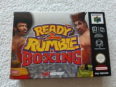 READY 2 RUMBLE BOXING ~ Nintendo 64 N64 PAL Boxed & Complete Collectors