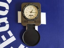Vintage Seiko Quartz QQ512N World Travel Alarm Clock JAPAN
