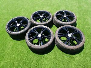 "FPV GT 335 19"" Wheels & Tyres x5 gloss black"