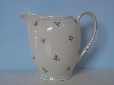 Schön! altes großes Milchkännchen Sahnegießer Streublumen Shabby Porzellan Blume