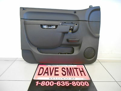 Door Interior Trim Panel (GM New OEM Front Interior Door Trim Panel Left Drivers Side 22818465 EBONY)
