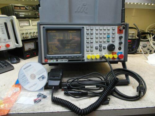 Aeroflex IFR COM-120B Communication Service Monitor Spectrum Analyzer LOADED CAL