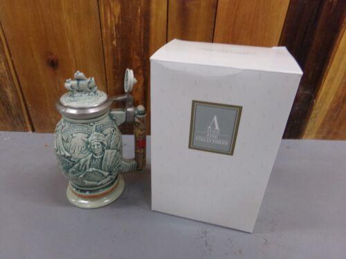Avon Christopher Columbus New World Beer Stein in Original Box ~ Excellent Cond