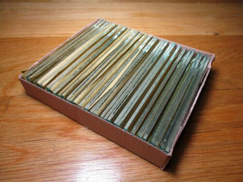"1"" x 5"" Clear Glass Rectangle Bevel, 30 pcs"