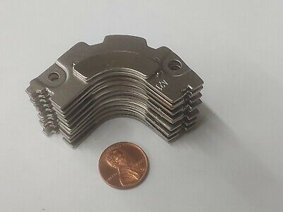 Lot Of 10 Neodymium Rare Earth Hard Drive Magnet With Back Plate