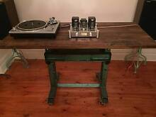 Custom made vintage recycled industrial table. Burnley Yarra Area Preview
