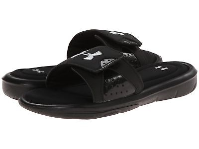Under Armour Boys Ignite IV Boys Youth Slide Sandal ‑Black