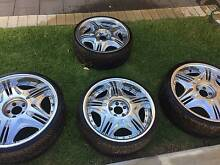 """Gestalt Virouge Rims 22"""" & 20"""" 600 ONO WITH TYRES Prospect Prospect Area Preview"""