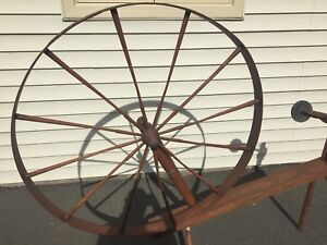 Antique spinning wheel - IS THIS WORTH ANYTHING?