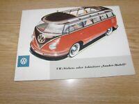 1236-900 VW Bus T1 Bremsbacken Bremsbeläge hinten 03.55-07.63 Samba Pritsche
