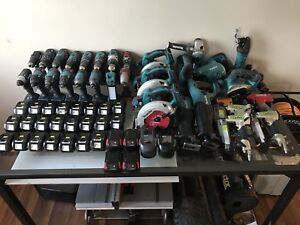 Makita, Milwaukee, Bosch, ridgid, Cadex tools for sale