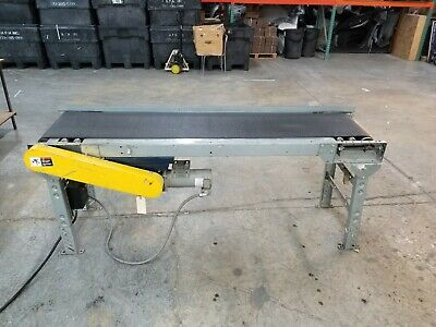 Motorized Belt Conveyor Wspeed Control