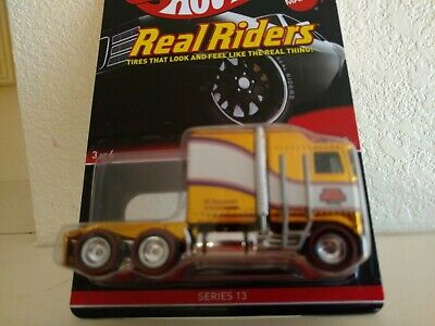 Hot Wheels THUNDER ROLLER Real Riders RLC Gold SUPER COOL