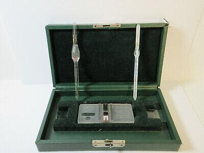 Vintage Rare Spencer Brigh Line Hemacytometer W Case Ms2
