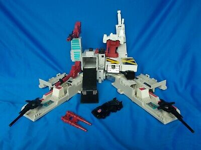 VINTAGE TRANSFORMERS G1 METROPLEX AUTOBOT CITY w/ACCESSORIES