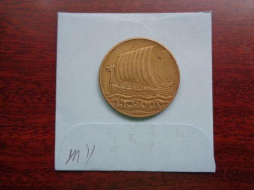 1934 Estonia 1 Kroon coin