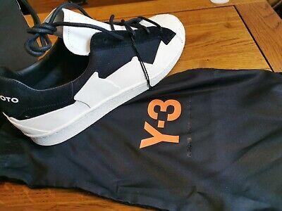 ADIDAS Y3 Yohji Yamamoto Super Star Takusan Trainers UK8 New. RRP £280 for sale  Shipping to Ireland