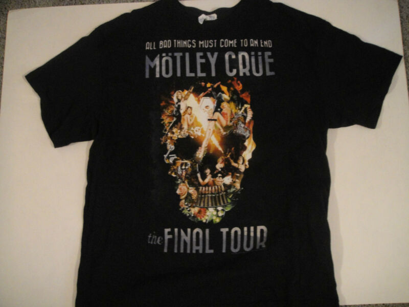 MOTLEY CRUE FINAL TOUR T-SHIRT