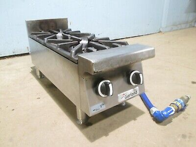 Garland Gtog12-2 H.d. Commercial Nsf Natural-gas 2 Burners Counter-top Stove