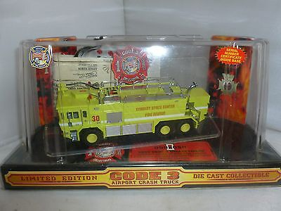 BRAND NEW CODE 3 KENNEDY SPACE CENTER FIRE AIRPORT CRASH TRUCK