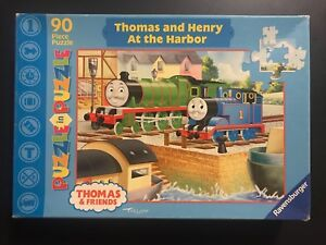 Thomas and Henry at the harbour puzzle