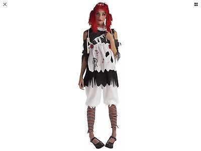 New Rubie's Unhappily Everafter Rag Doll Girl Size XSmall 2-6 Women's Teen