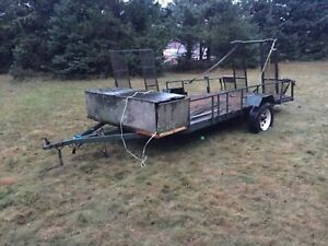 14 foot trailer with box