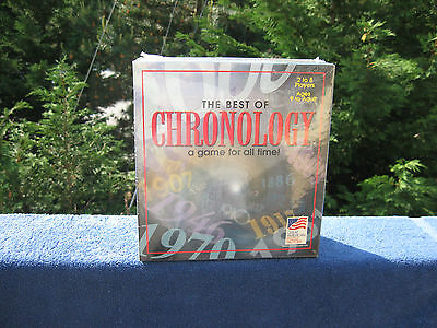 BEST OF CHRONOLOGY 1997~ A Game For All Time~New & Factory (Best Strategy Board Games Of All Time)