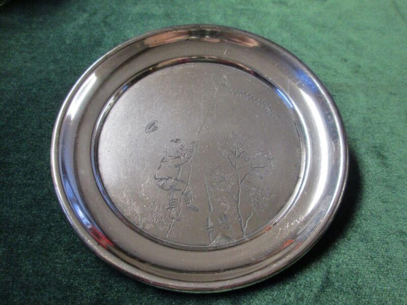 Antique Silver Child