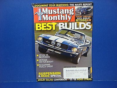 Mustang Monthly,August 2008,Best Builds,Stock vs Restomod or Fox Body (Best Fox Body Mustang)