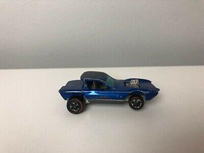 1968 Hot Wheels Python Sweet Sixteen Spectraflame Blue Redline