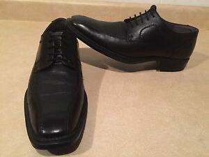 Men's Bos Wise Guy Leather Dress Shoes Size 10.5