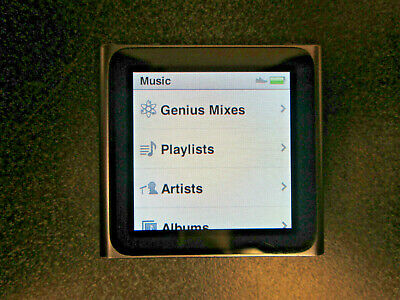 Apple iPod nano 6th - MC688LL - Gray - (8 GB)