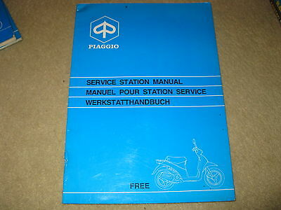 Piaggio Vespa Scooter Service Station Workshop Manual Model Free