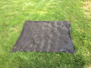 Small dump truck mesh tarp