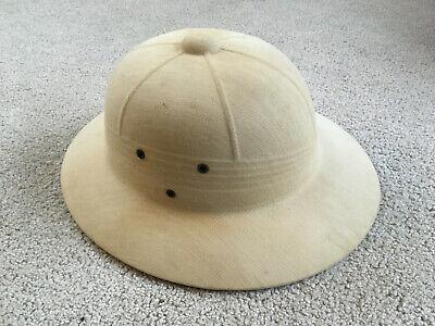 Safari Hard Hat (Vintage Hard Hat Safari Jungle Garden Fishing Hard PITH hat rigid SUN)