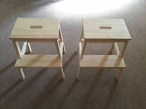 2 New IKEA Stools $15 Lane Cove North Lane Cove Area Preview