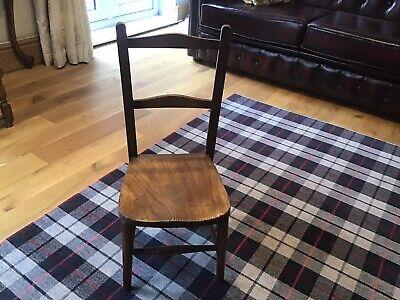 Child's Elm wood School Chair