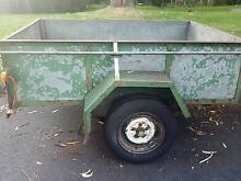 solid galvanize trailer for sale  good working condition Hornsby Hornsby Area Preview