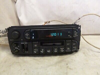 02 03 04 05 06 07 Dodge Chrysler Jeep Radio Cassette P05064335AJ KFQ45
