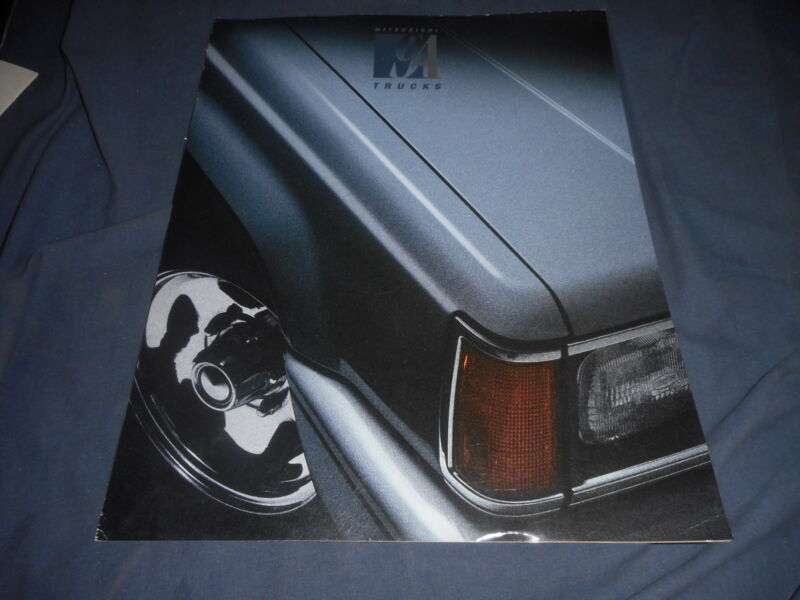 1994 Mitsubishi Pickup USA Market Color Catalog Brochure Prospekt
