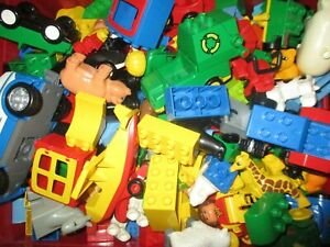 Lego Duplo Bausteine Konvolut 1kg