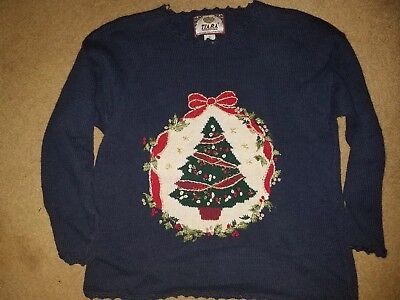 Womens Medium Ugly Tacky Christmas - Ugly Christmas
