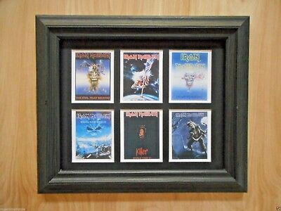 - DAVID BOWIE  -   6 MINIATURE CONCERT POSTERS IN A FRAME