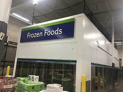 Walkin Walk In Cooler Freezer 16 12 Feet Tall X 20 X 50