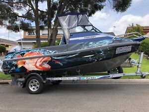 Boat 2015 Stabicraft 1650 with Honda 100HP four stroke done 5hrs