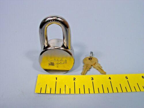 American Lock AH10KA Solid Hardened Steel Padlock