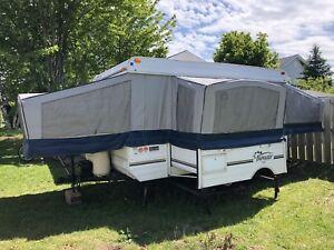 2001 Bonair 12' Tent Trailer w/Slide Out