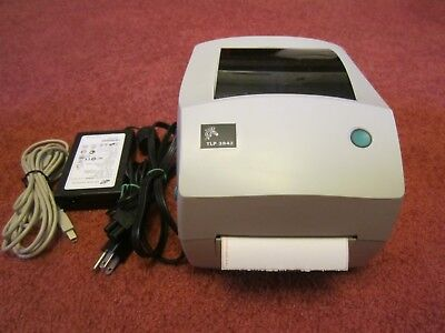 New Zebra TLP 3842 Label Thermal Printer USB Parallel and serial  300dpi  for sale  Charleston